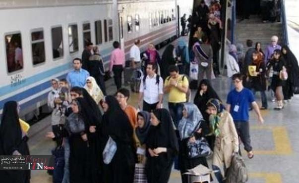 ۵۰ درصد حجم قطارهای نوروزی کشور در مسیر مشهد الرضا(ع)