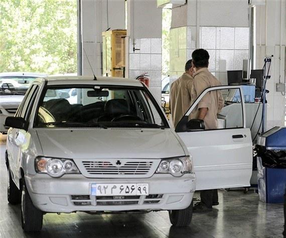 زمان پایان اعتبار گواهی معاینه فنی خودرو