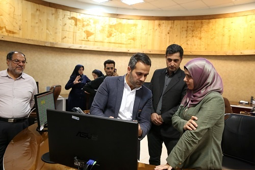 بازدید رییس CNS منطقهای قاهره از مجموعه عملیات هوانوردی شرکت فرودگاهها