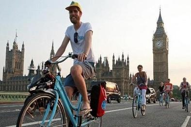 لندن چطور بهشت دوچرخهسواران میشود؟