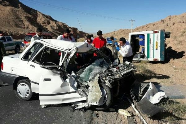 19 نفر در حوادث جاده ای جان باختند