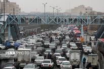 تصاویر اعتراضات  به گرانی و سهمیهبندی بنزین