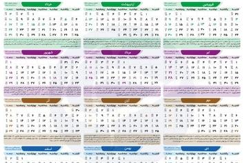 اینفوگرافی| ۱۰ مناسبت به تقویم کشور اضافه شد