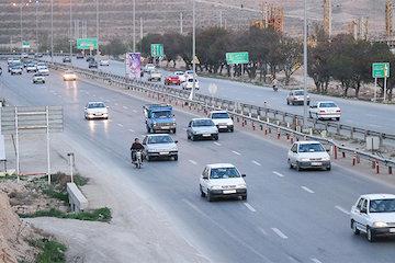 افزایش ۷.۲ درصدی در ترددهای جادهای نسبت به روز قبل