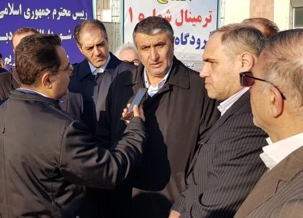 اسلامی: فرودگاه اردبیل میتواند هاب هوایی باشد