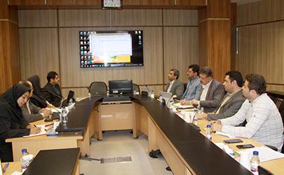 جلسه مشترک شرکت بازآفرینی شهری ایران و سازمان بنادر و دریانوردی
