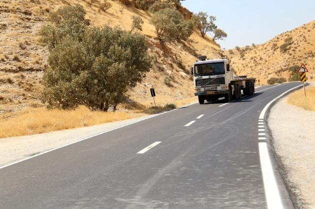 افتتاح پروژه روکش آسفالت محور زرنه-سومار در شهرستان ایوان