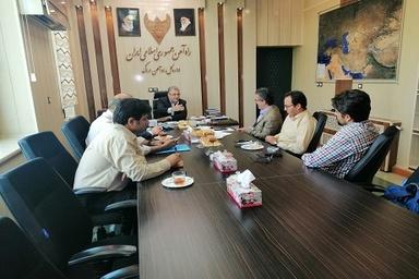 برگزاری جلسه مشترک مدیر کل با معاون شهردار اراک