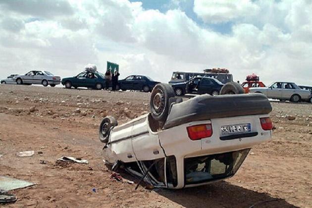 حادثه رانندگی در زنجان ۲ کشته برجا گذاشت