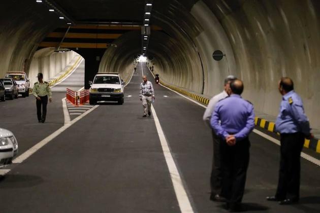 افتتاح نخستین تونل دوطبقه شهری تهران