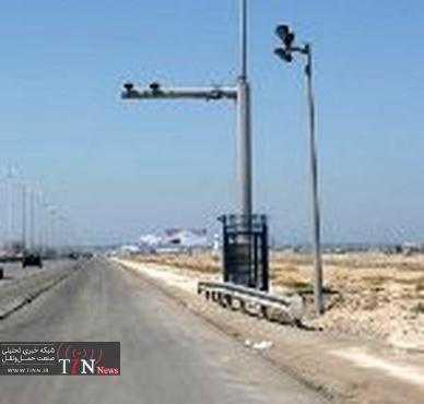 آغاز بکار دوربین های کنترل سرعت محور بوشهر - گناوه در آینده ای نزدیک