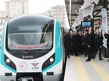 Marmaray suburban rail corridor across Istanbul opened