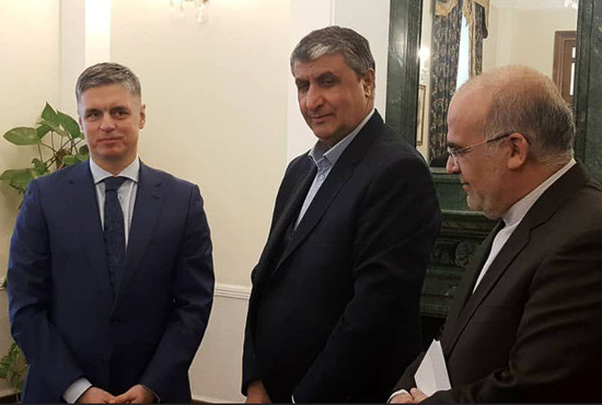 تصاویر| ملاقات وزیر راه و شهرسازی با وزیر امور خارجه اوکراین