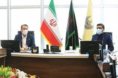دیدار مدیرعامل ایران خودرو با مدیرعامل راه آهن جمهوری اسلامی ایران