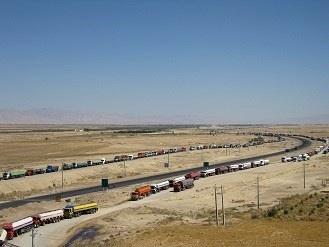 حجم تردد بار در استان ایلام 3درصد افزایش یافت