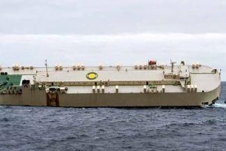 لحظههای غرق شدن کشتی مدرن اکسپرس + عکس
