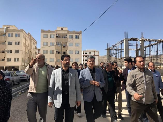 تشکیل کمیته جهت بررسی و برآورد خسارات ناشی از زلزله در مسکن مهر گلستان شهربجنورد
