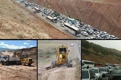 14 تیم عملیاتی، بهسازی جاده های استان را پیش از ایام محرم انجام دادند