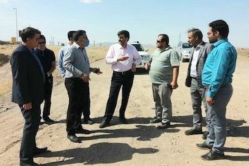 تسریع در تکمیل پروژه چهار خطه کردن محور قدیم سلفچگان – ساوه