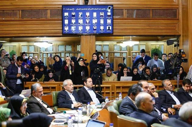روز شلوغ شورای شهر در جلسه استعفای شهردار تهران