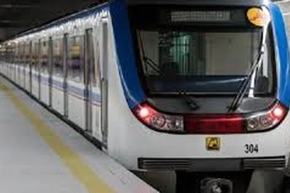 قطار مترو روی ریل تولید داخلی