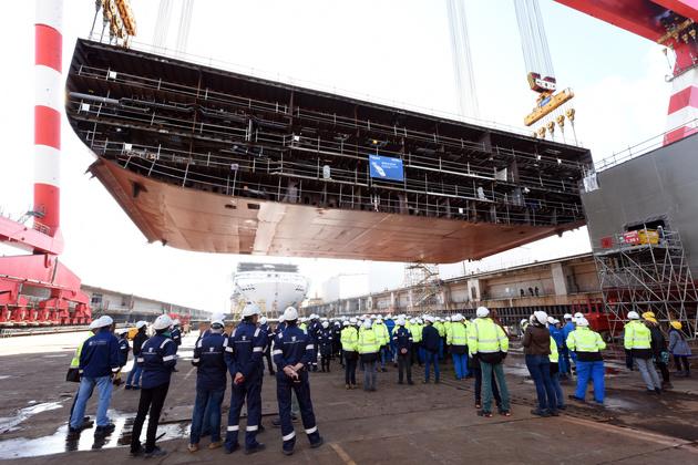 Coronavirus delays construction of world's largest cruise ship