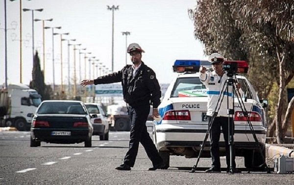 اعمال قانون بیش از ۲ هزار دستگاه وسیله نقلیه به علت سرعت غیرمجاز