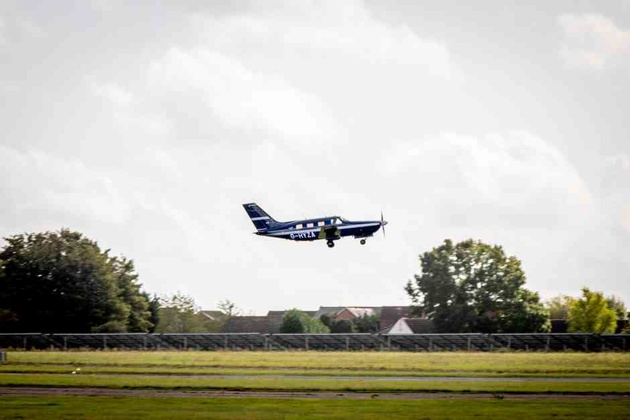 World's first Hydrogen powered commercial plane takes off from Cranfield