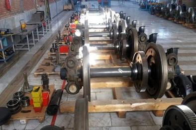 راهاندازی کارگاه اورهال گیربکس در شرکت تعمیرات و توسعه بهرهبرداری ریلی مپنا