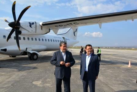 فرودگاه همدان آماده افزایش پروازهاست