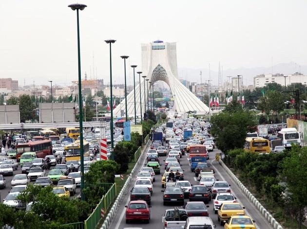 کاهش کیفیت هوا در برخی مناطق پرتردد پایتخت