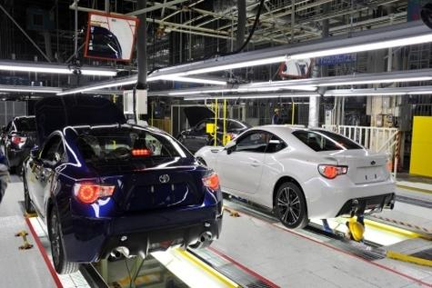 تولید خودروهای تویوتا ازسرگرفته شد