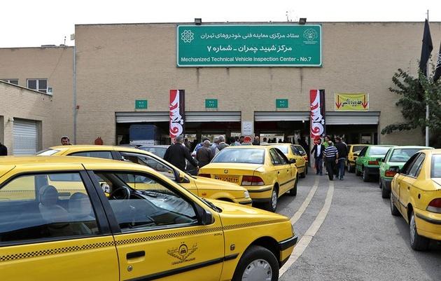 مراجعه ۲۵۰۰۰ تاکسی و ۷۵۰۰ اتوبوس به مراکز معاینه فنی تهران