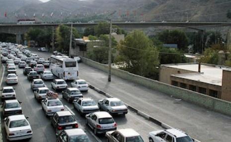 افزایش ۶ درصدی میزان تردد در محورهای مواصلاتی استان اردبیل