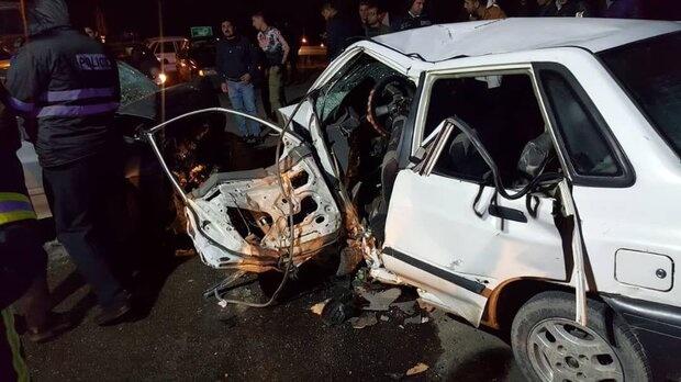واژگونی و خروج از جاده وسایل نقلیه بیشترین عامل تصادفات در ایلام