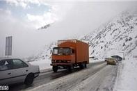 بارش برف و باران در اغلب جادهها و لزوم تجهیز خودرو به زنجیرچرخ
