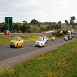 Major repair works underway at Princes Highway in Victoria, Australia