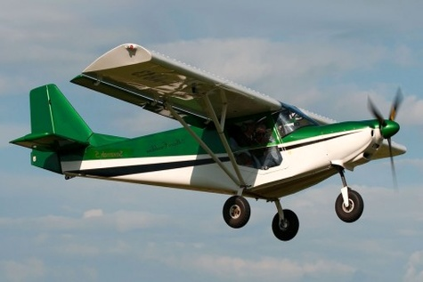 پرواز هواپیمای فوق سبک ۲ نفره ساخت بسیجیان دشتستان