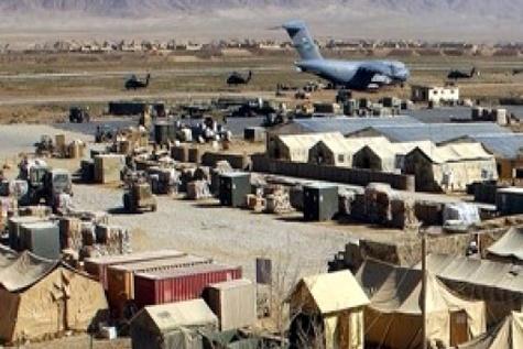 فرودگاه بگرام هدف اصابت راکت قرار گرفت