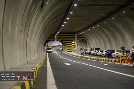مراسم افتتاح و بهره برداري از دوربرگردان غيرهمسطح بزرگراه مدرس و پروژه تونل آرش-اسفنديار