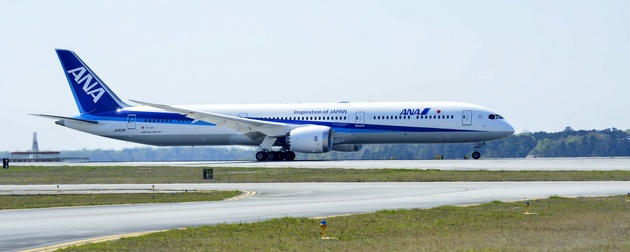 ANA – All Nippon Airways takes delivery of airline's first Boeing 787-10 Dreamliner