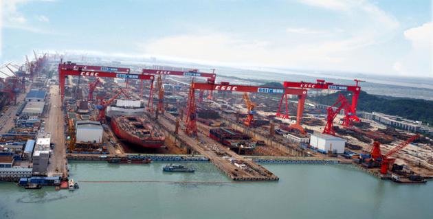 China's Two Biggest Shipbuilders Plan Merger