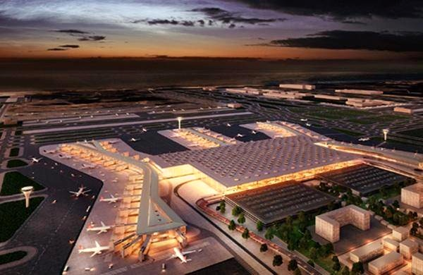 فرودگاه جدید استانبوول