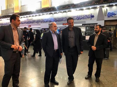 آغاز بازدیدهای دورهای قائممقام راهآهن در محور تهران-آذربایجان
