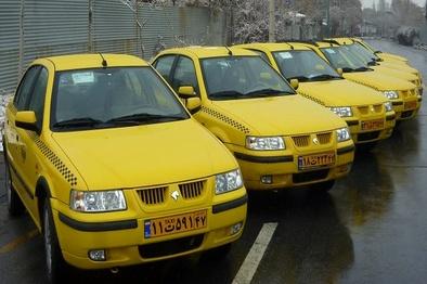سرویسدهی تاکسیهای کرمانشاه تا ۷۰ درصد کاهش یافت