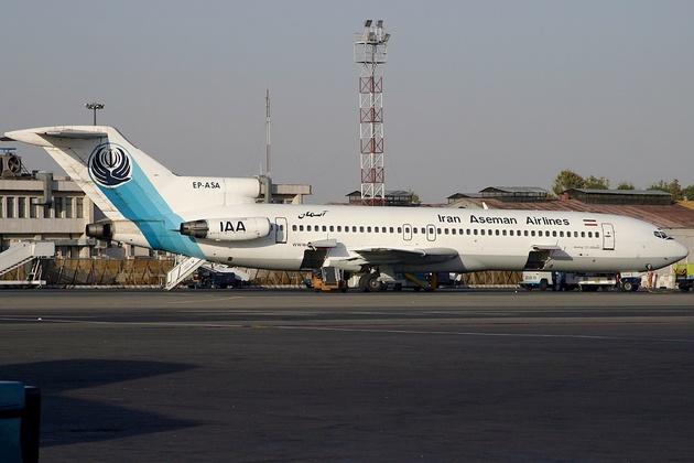 آتشسوزی در پرواز شیراز-مسقط تکذیب شد