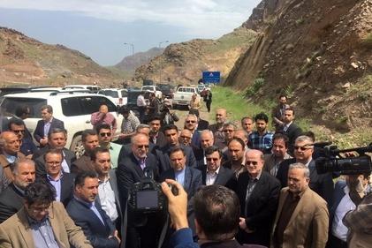 1-بازدید وزیر راهوشهرسازی از راهآهن قزوین-رشت