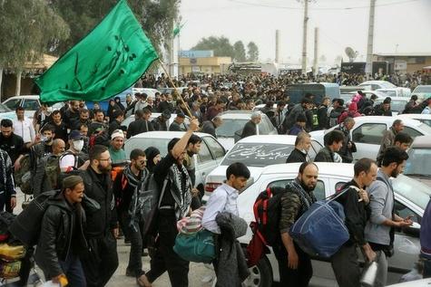 افزایش ترافیک در محور مهران به ایلام