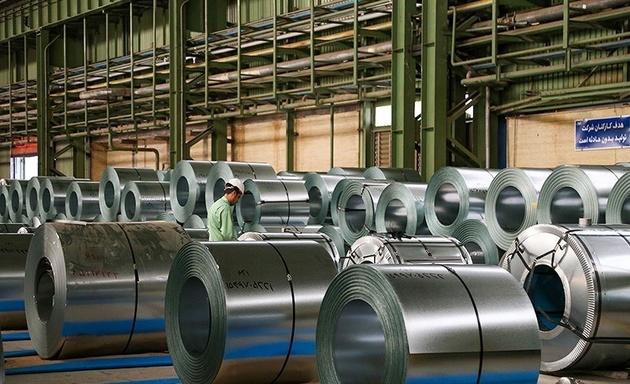 تولید فولاد ایران ۶ درصد رشد کرد