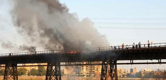 قدیمیترین پل اهواز چرا آتش گرفت؟